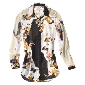 Long sleeve floral blouse $29.99